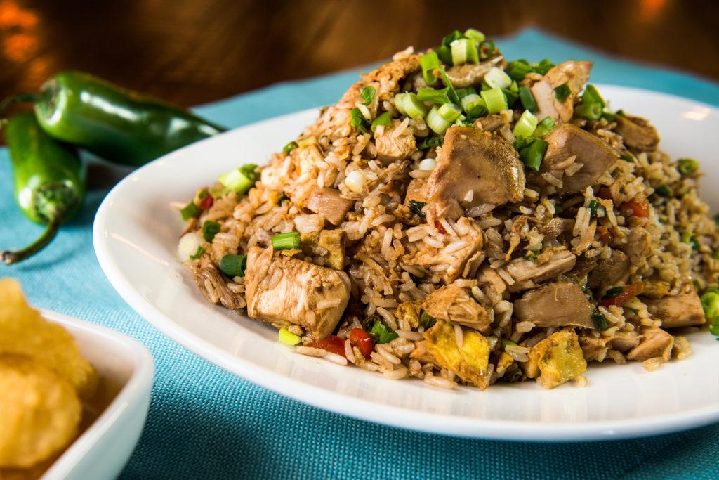 Chaufa Con Pollo - Carne