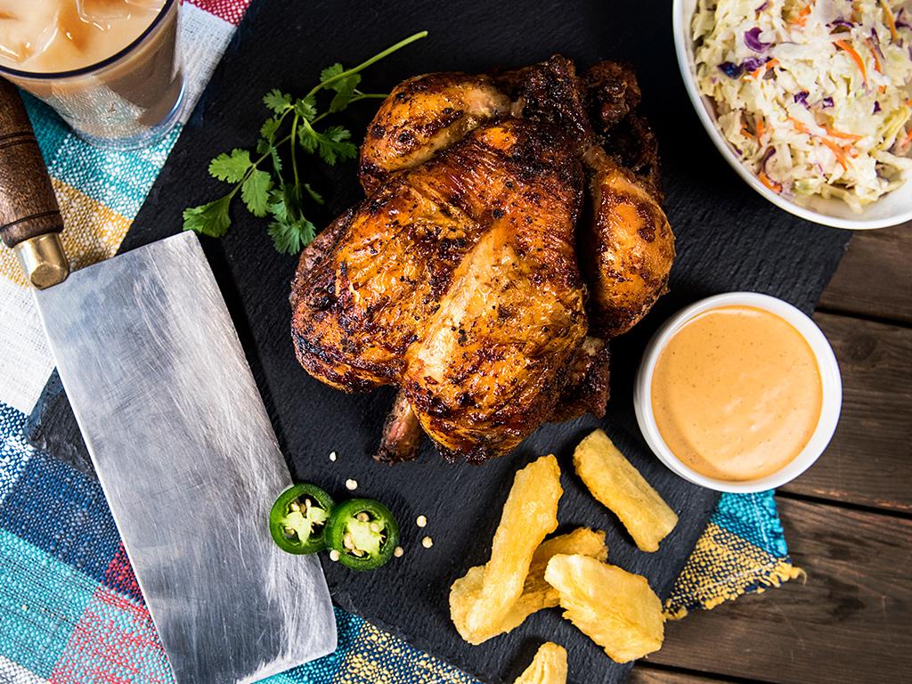 Half Chicken Two Sides
